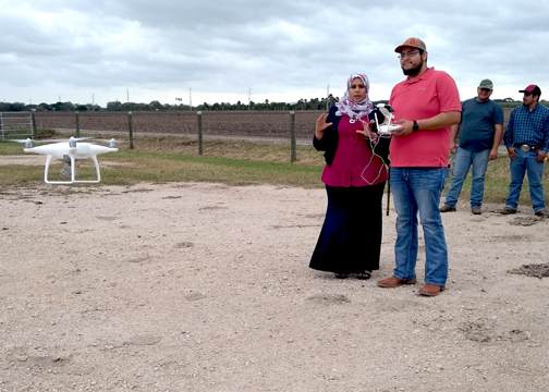 TSTC AgDroneTechnology 1 72dpi - TSTC agricultural program introduces drone technology