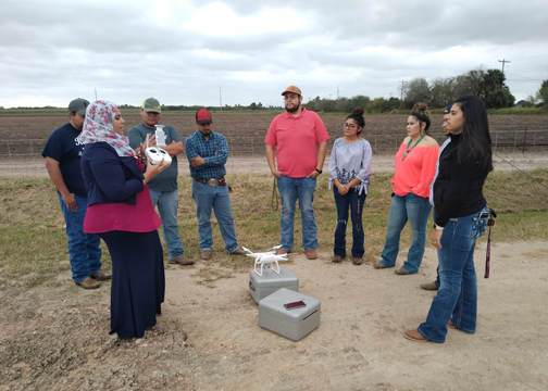 TSTC AgDroneTechnology 2 72dpi - TSTC agricultural program introduces drone technology