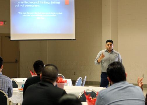 EmpowermentConference FrankCoronado 72dpi - TSTC empowers students to be industry-ready