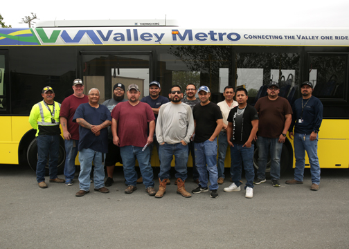 TSTC ValleyMetro BusDriverCourseDonation 72dpi - TSTC, Valley Metro partner to meet industry needs