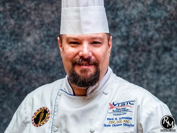 Waco Chef Mark Schneider March 4 2019 - TSTC's Schneider Inducted Into International Chefs Honor Society