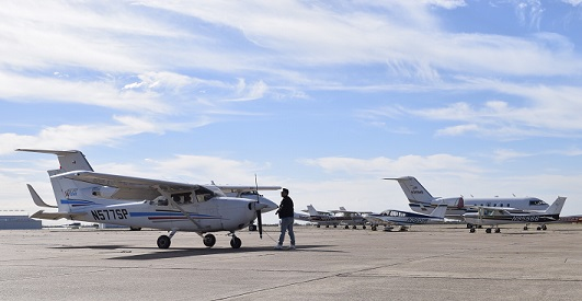 Waco Sommer aviation story March 22 2019 2 - TSTC Aircraft Pilot Students in Demand to Fill Jobs