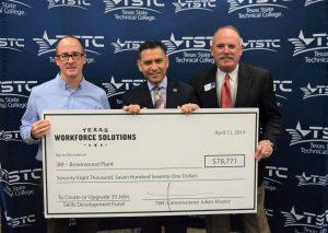 3M TSTC TWC 1 resize 300x213 - TSTC and 3M Brownwood Celebrate TWC Skills Development Fund Grant