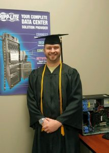 BrianBradlyTSTCCyberGrad 214x300 - From university to technical college, TSTC grad finds lifelong career