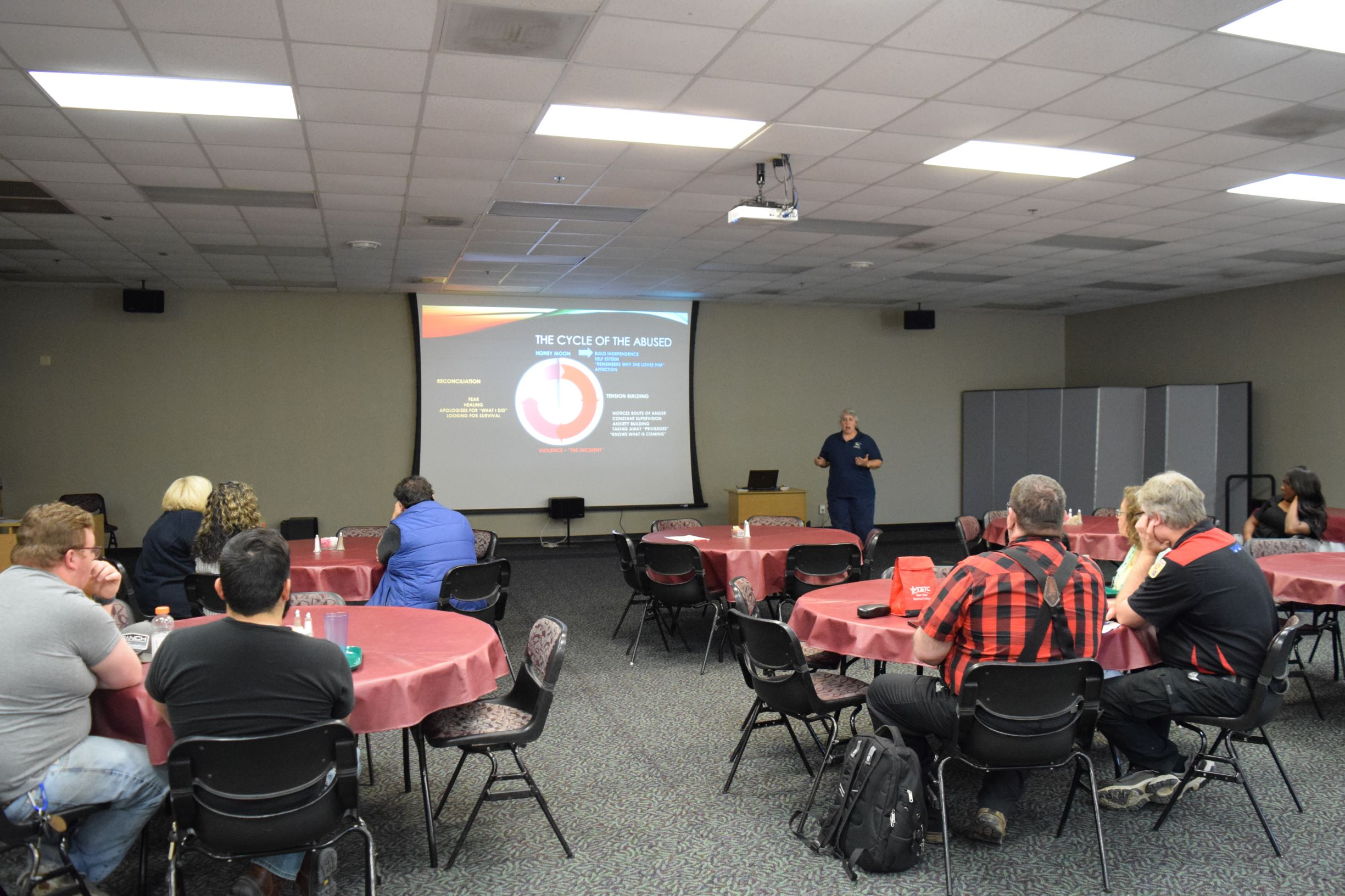 TSTC Hosts Sexual Assault and Domestic Violence Information Seminar