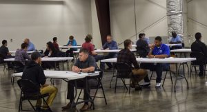 North Texas interview simulation April 10 2019 2 300x163 - TSTC Career Services Hosts Mock Interview Sessions for Students