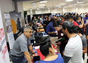 TSTC IndustryJobFair 1 72dpi 300x214 - TSTC's Industry Job Fair places students, helps meet industry demand