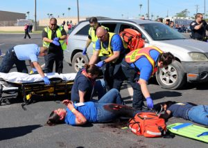 TSTC MockDisasterDrill 72dpi 300x214 - TSTC's mock disaster drill prepares first responders for mass casualty incidents