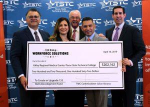 TSTC TWC VRMC36v2 72dpi 300x214 - TSTC, Valley Regional Medical Center receive grant to fund customized training