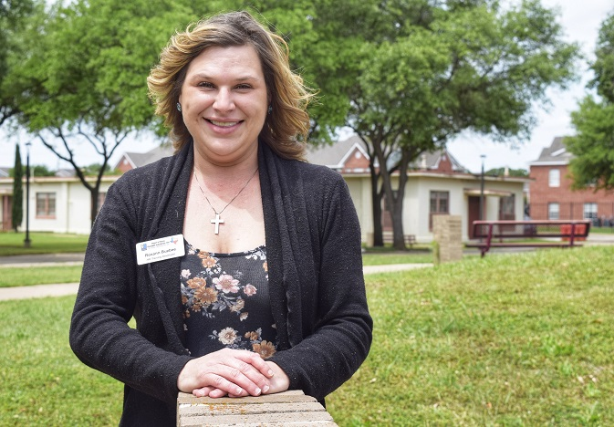TSTC Candidate for Graduation Striving to Keep Goodwill Industries' Employees Safe