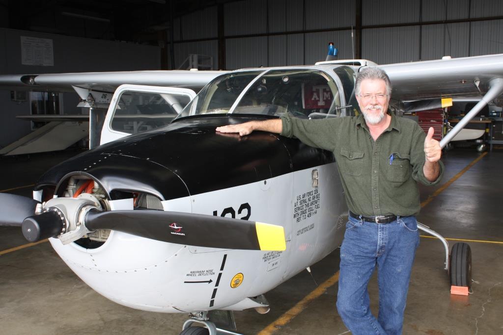 TSTC Alumnus Receives Aviation Patent