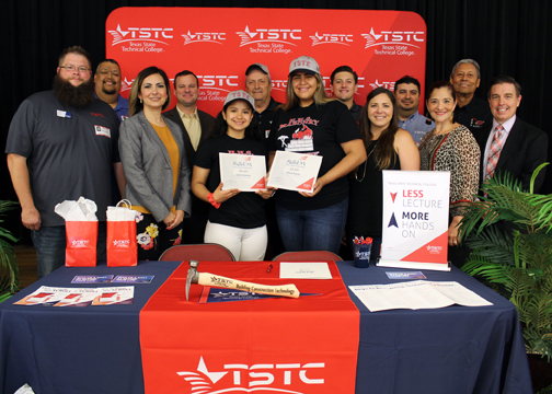 TSTC helps two HHS students pave their way to success