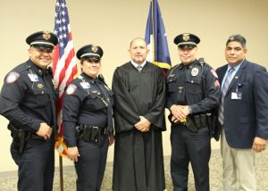 TSTC PD Group Photo 72dpi 300x214 - TSTC makes history with first female lieutenant, swears in new sergeant