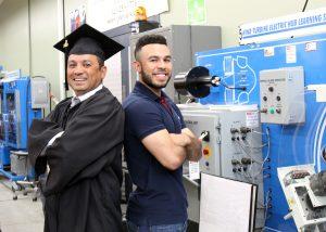 TSTC WindTechGrad IsmaelGaitan 300x214 - TSTC grad and son experience new height of success