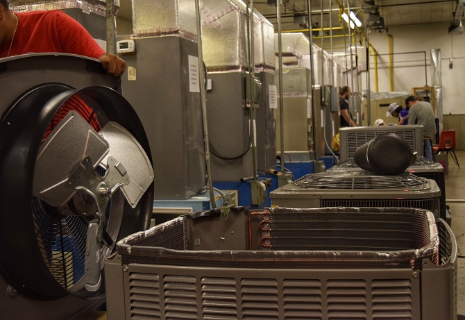 TSTC HVAC Program Sees Need to Fill Jobs