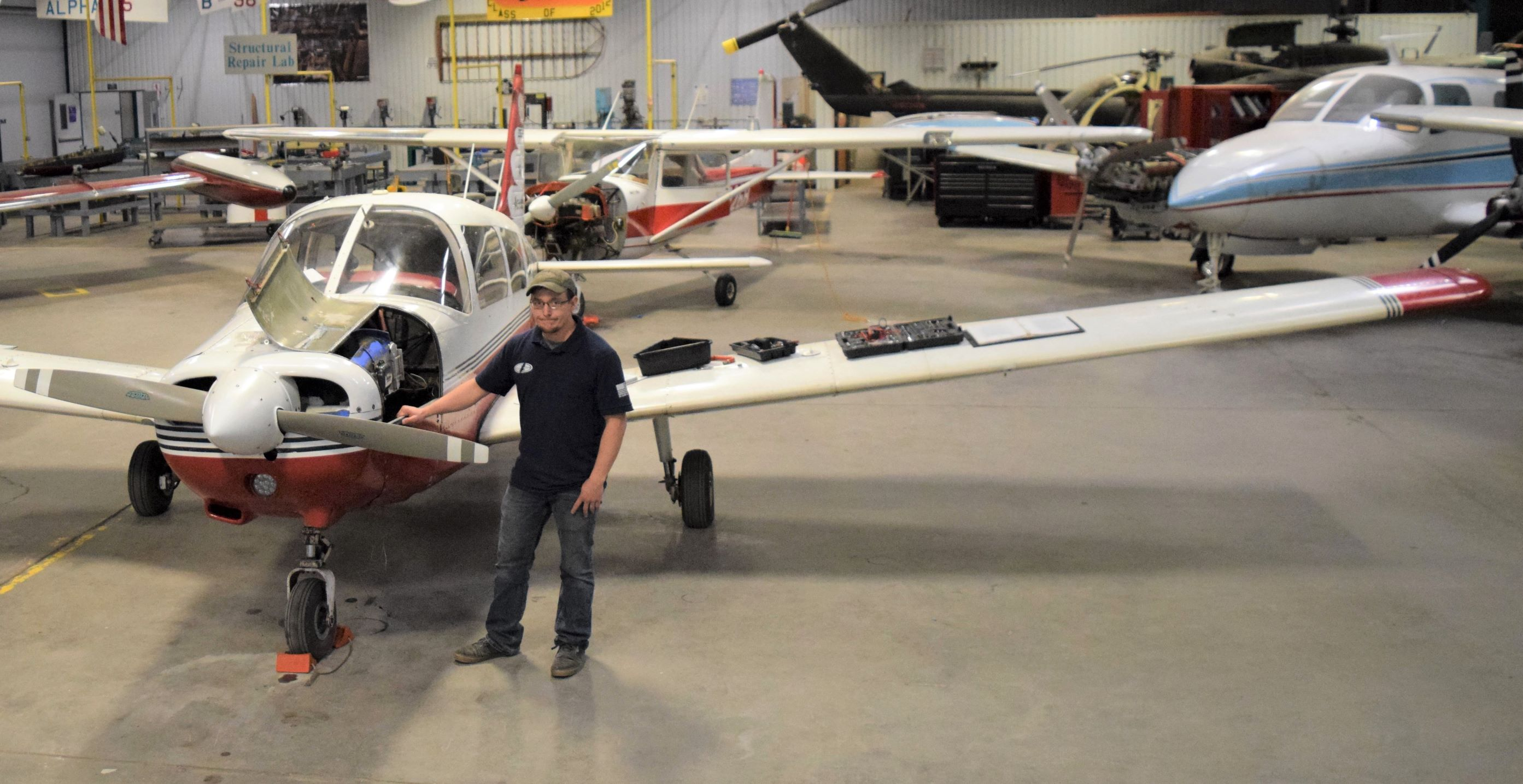 TSTC Student Reaches New Heights While Restoring the Past