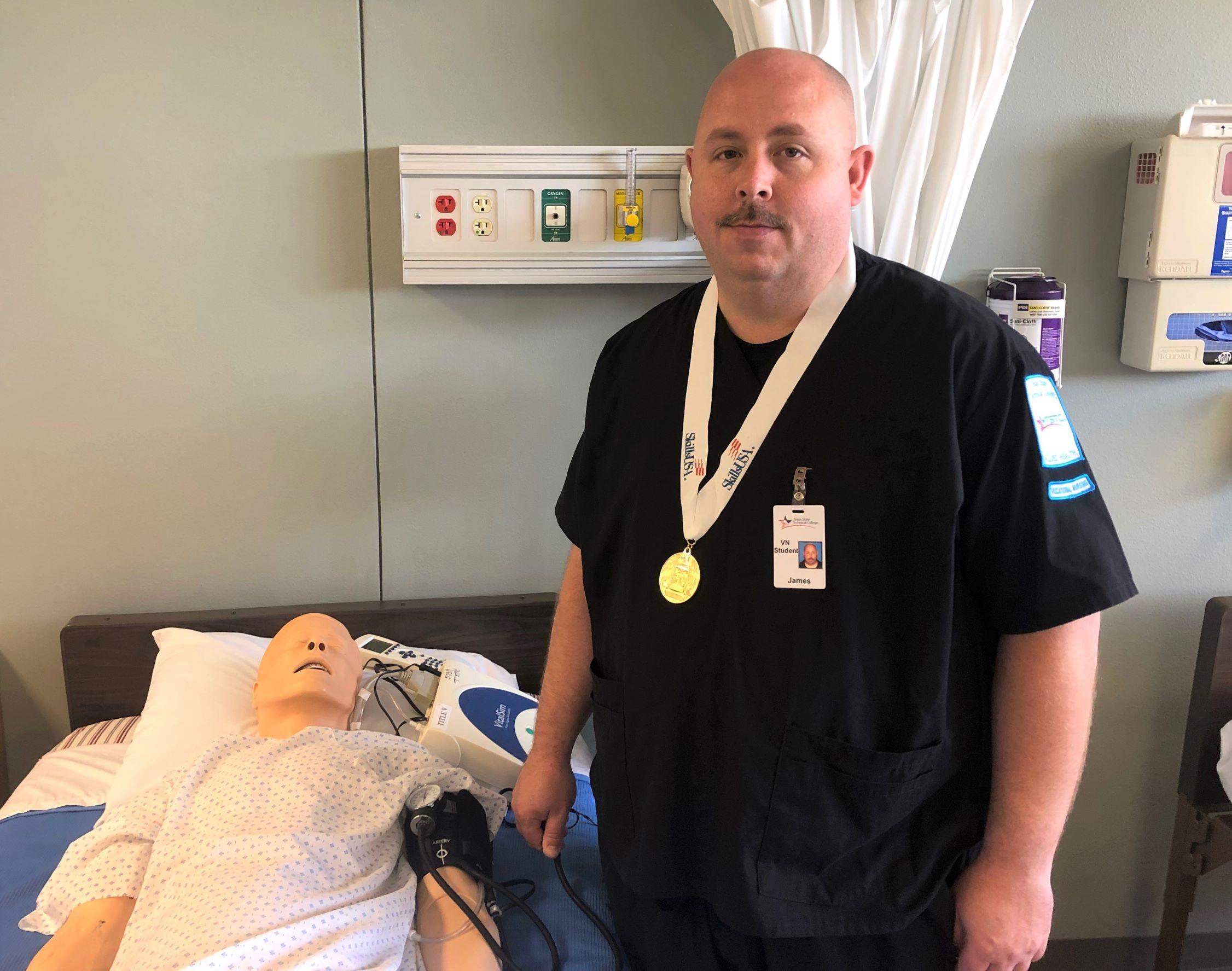TSTC Student Veteran to Compete at SkillsUSA Nationals