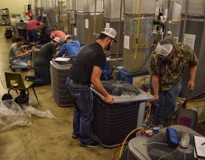 Waco HVAC June 21 2019 photo edited 300x234 - TSTC HVAC Students Encourage Preventive Maintenance on Air Conditioning Units
