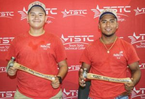 Waco SkillsUSA and BCT scholarships June 19 2019 edited 1 300x204 - Three TSTC Building Construction Technology Scholarships Awarded