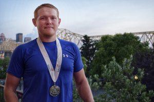 2 July 2019 Waco SkillsUSA Carpentry Cody edited 300x199 - TSTC Wins Six Medals at National SkillsUSA Conference