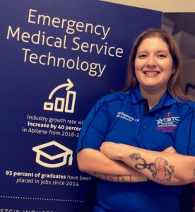 TSTC EMSInstructor CrystalEspinoza 276x300 - Ambulances lead to TSTC classroom for new EMS instructor