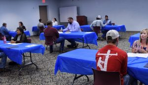 Marshall interview practicum July 31 2019 edited 300x173 - TSTC Hosts Mock Interview Sessions for Students