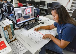 TSTC ArchitecturalDesignEngineering 300x214 - TSTC drafting and design give students their blueprint to success
