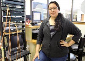 TSTC CyberSecurity MayraDiaz 300x214 - TSTC Cybersecurity student-veteran on track toward a new career
