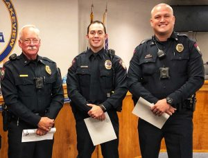 Waco campus policeman honored Oct. 10 2019 edited 1 300x228 - TSTC Police Officer Honored by Lacy Lakeview