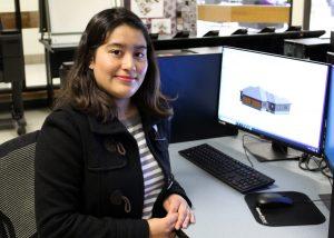 TSTC ADEG Student MarisolArias 300x214 - First-generation college student designs her life at TSTC