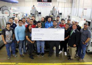 TSTC PrecisionMachining HAASDonation 300x214 - TSTC machining program receives large donation for scholarships