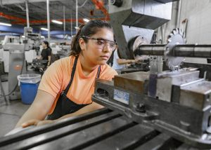 TSTC PrecisionMachiningTechnology 300x214 - TSTC machining program shapes careers