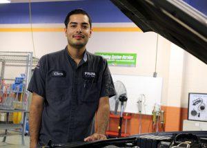 TSTCAutoTech ChrisMachado 300x214 - TSTC automotive student races toward career
