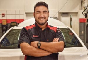 Waco edited 2 Ricardo Echeverria T Ten Nov. 15 2019 300x203 - San Angelo Student Driven by TSTC Toyota Program