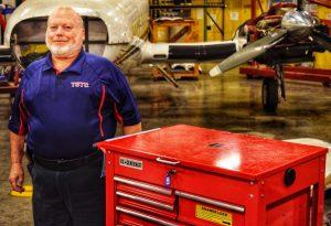 Waco edited Aviation Maintenance Carl Stutsman Nov. 1 2019 300x205 - TSTC's Waco Campus Has New FAA Designated Mechanic Examiner