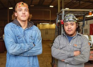Waco edited Groesbeck Welding students Oct. 29 2019 1 300x215 - Groesbeck Students Look to TSTC for Career Goals