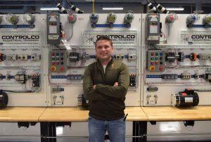 devan1 300x202 - Student Veteran Earns Two Degrees at TSTC