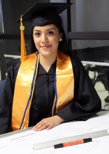TSTC ArchitecturalGrad EsthelaHernandez 214x300 - TSTC helps first-generation college student realize her dream