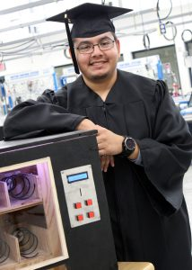 TSTC MechatronicsGrad HugoGamboa 214x300 - TSTC graduate clears hurdles in pursuit of degree