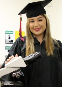 TSTCBiologyGrad JasmineMunoz 214x300 - First-generation college student set to become TSTC grad