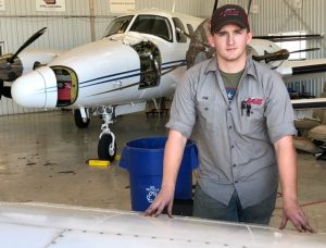 Waco Jeffrey Potts Avionics alumnus April 3 2020 300x228 - TSTC Avionics Graduate Motivated by Perseverance