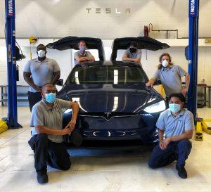 25 June 2020 Waco Tesla first cohort 300x273 - First Cohort of Tesla START Program Students Graduate at TSTC