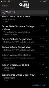 Waco enrollment