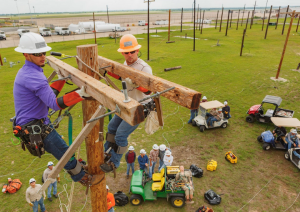 Lineworker Photo 300x212 - Retired lineworker finds new adventure as TSTC instructor