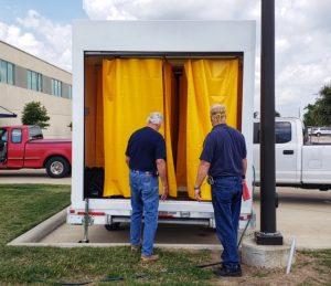 Waco FBC photo one 300x259 - TSTC Environmental Technology Program Gets New Decontamination Trailers