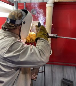 ethan hammond web 266x300 - Sparks fill TSTC Welding Technology lab this summer