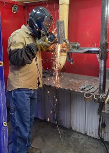 zane fitch web 213x300 - Sparks fill TSTC Welding Technology lab this summer
