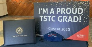 Grad Swag Pickup Photo 300x154 - TSTC gifts graduates during Grad Swag Pickup