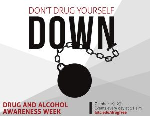 DrugAndAlcoholAwarenessWeek 300x233 - TSTC observes Drug and Alcohol Awareness week with online presentations