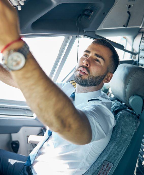 Aircraft Pilot Training Technology